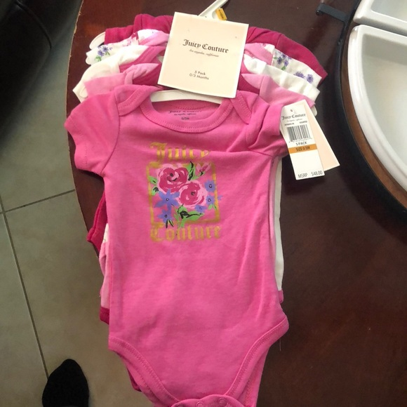 b4fa5824f Juicy Couture Matching Sets | 5 Pack Onesie | Poshmark